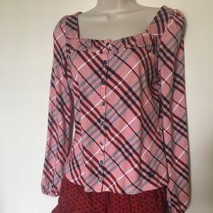 Burberry blouse authentic